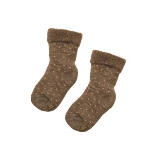 <img class='new_mark_img1' src='https://img.shop-pro.jp/img/new/icons1.gif' style='border:none;display:inline;margin:0px;padding:0px;width:auto;' />Baby socks Arin Light brown 3m-36m