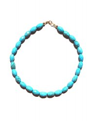 MAGNESITE TURQUOISE NECKLACE