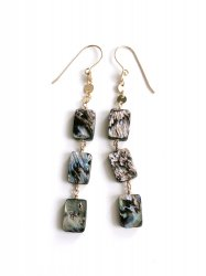 Abalone Shell Pierce Earring