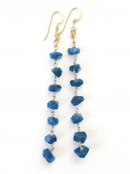 Apatite Long Pierce Earring