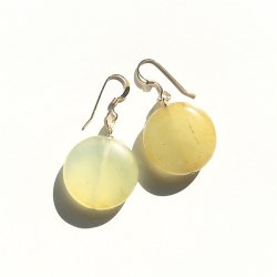 Olive Jade Pierce Earring