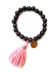 <img class='new_mark_img1' src='//img.shop-pro.jp/img/new/icons38.gif' style='border:none;display:inline;margin:0px;padding:0px;width:auto;' />OUTLET/WOOD PINK MIX TASSEL BRACELET
