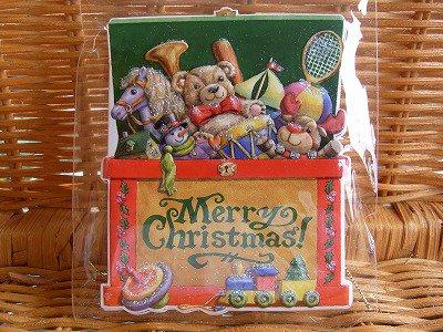キャロルウィルソン クリスマス ギフトタグ Christmas Toy Box