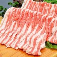 黒豚やごろう豚 バラ肉 しゃぶしゃぶ300g