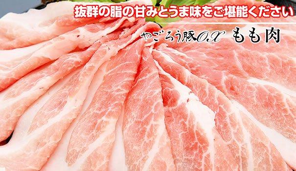 やごろう豚OX ロース肉 薄切り500g
