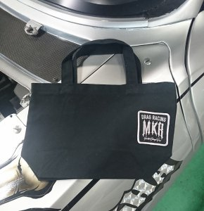 ★MKR×RODMOTORS TOTE BAG S