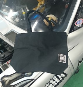 MKR×RODMOTORS TOTE BAG L