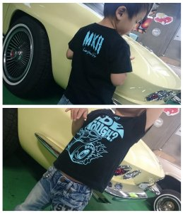 2500⇒1500yen RODMOTORS mouse RAY T-Shirts for.KIDS