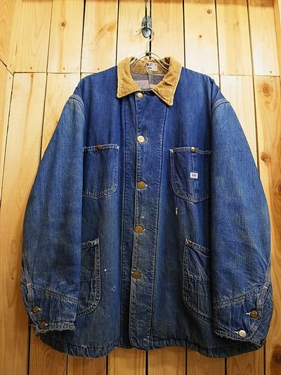 40s lee 91 lj denim cover all s o used clothing online shop