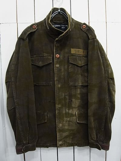 27a3deddcd20 Stussy M-65 Field Jacket Type - S.O used clothing Online shop