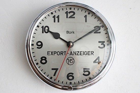 アンティーク掛け時計【インダストリアル】| BURK