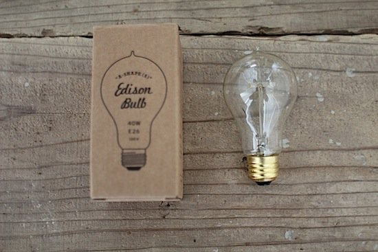 エジソン電球/Edison bulb/シェイプ/40W/口金E-26