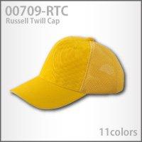 【ラッセルツイルキャップ】コットンツイル&ラッセルメッシュ(709-RTC)