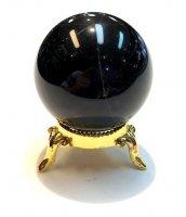 モーリオン(黒水晶)×丸玉[☆モーリオン人気の為入荷☆]1