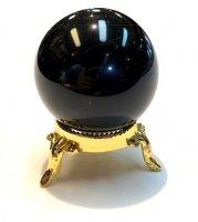 モーリオン(黒水晶)×丸玉[☆モーリオン人気の為入荷☆]4