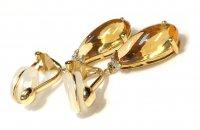 シトリン×イヤリング[◇宝石質のシトリンを使用◇]