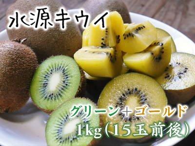 菊池水源キウイ(グリーン+ゴールド) 2kg(30玉前後)