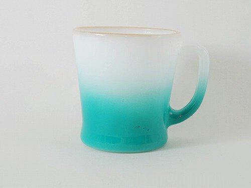 ファイヤーキング・Dハンドルマグ・グラデーション (白・青緑)