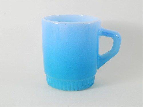 ファイヤーキング・リブボトムマグ(水色×青)
