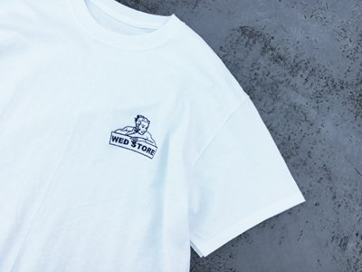 "WED STORE ""KM"" TEE White"