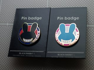 ■PINS(ピンバッチ) Black & aqua セット 送料込<img class='new_mark_img2' src='//img.shop-pro.jp/img/new/icons5.gif' style='border:none;display:inline;margin:0px;padding:0px;width:auto;' />