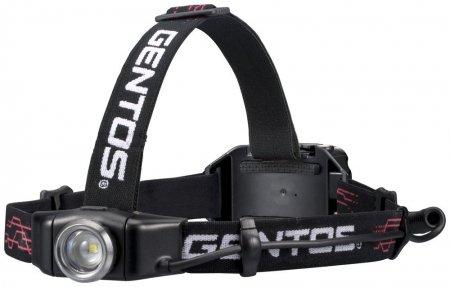 GENTOS 充電式ヘッドライト Gシリーズ 【明るさ300ルーメン/実用点灯6時間】 GH-001RG