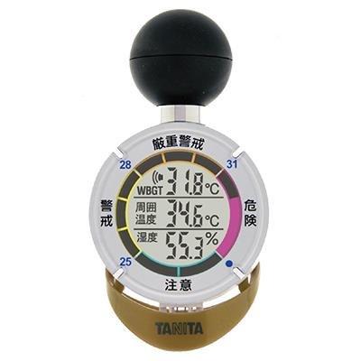 サンコーテクノ / タニタ 黒球式熱中症指数計 熱中アラーム TT-562ST