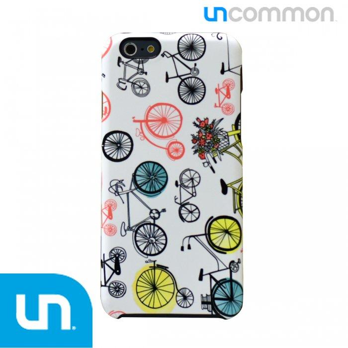 iPhone6s/6用 UNCOMMON アンコモン Margaret Bergの自転車のオシャレなイラストがカワイイ ケース