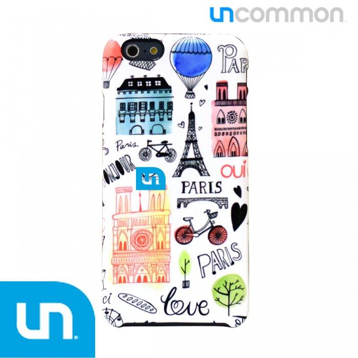 iPhone6s/6用 UNCOMMON アンコモン Margaret Bergのパリ市街のカラフルでオシャレな イラストケース