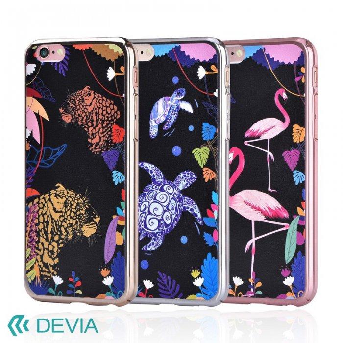 iPhone7 DEVIA Luxy 薄型0.8mm ハードケース最新のメッキ加工 ステンドグラスのような美しいデザインカバー