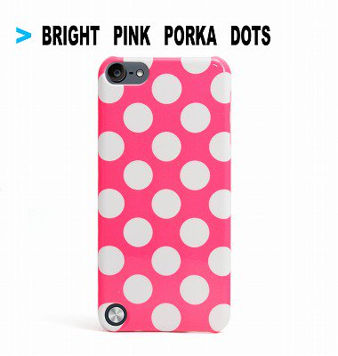 Uncommon Bright Pink Polka Dot iPod Touch 5