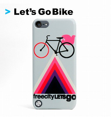 FC Let's Go Bike iPod Touch 5 Deflector