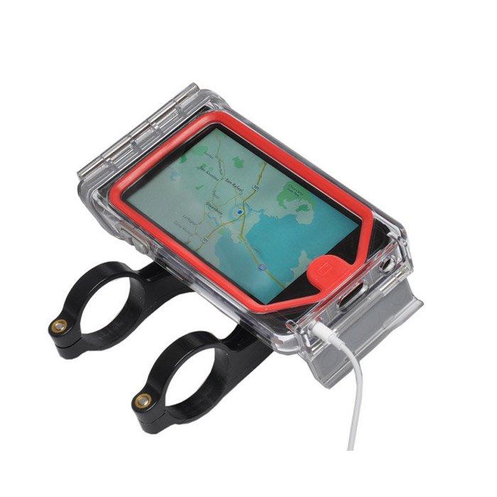 ハンドルに付けてナビに Optrix(オプトリックス)CycleX  自転車 バイク マリンジェット iPhone5s/5