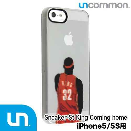 iPhoneSE/5s/5 ケース Uncommon × Sneaker Street (スニーカーストリート) コラボデザイン/ King Coming ho…