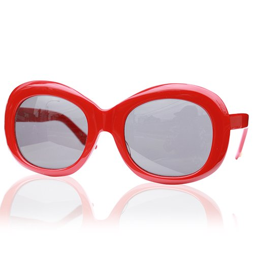 GROOVER #MARGRET -RED / DARK GRY Lens