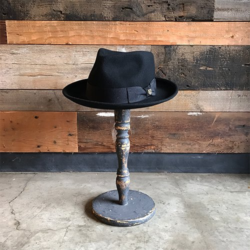 BRIXTON #SWINDLE FEDORA -Black