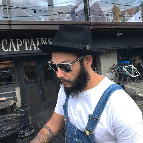 brixton swindle fedora black captains helm web store