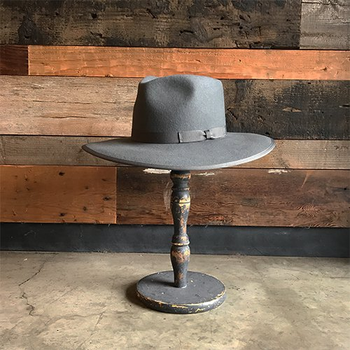 BRIXTON #HOMESTEAD FEDORA -Cement