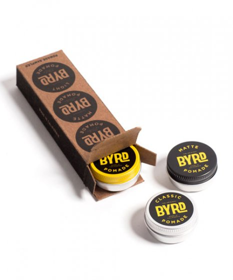 BYRD #MINI POMADE COCKTAIL KIT