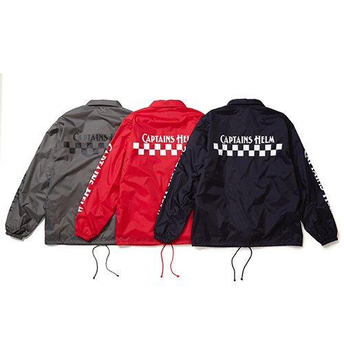 CAPTAINS HELM #CH CHECKER COACH JACKET