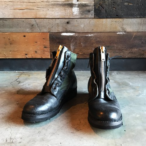IrregulaR #ZIPPER MILI SHORTY BOOTS   -2018 New Year Item