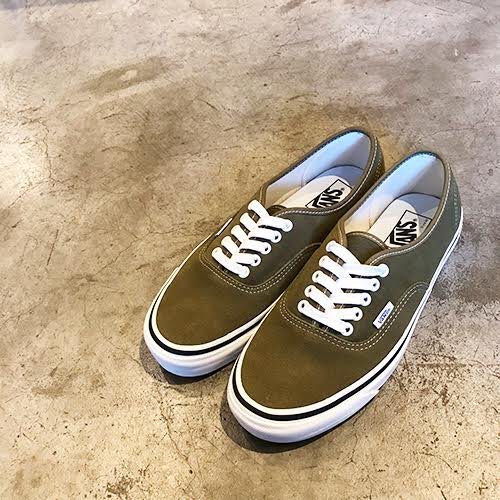 VANS #AUTHENTIC 44 DX (ANAHEIM FACTORY) -SUEDE/OG OLIVE