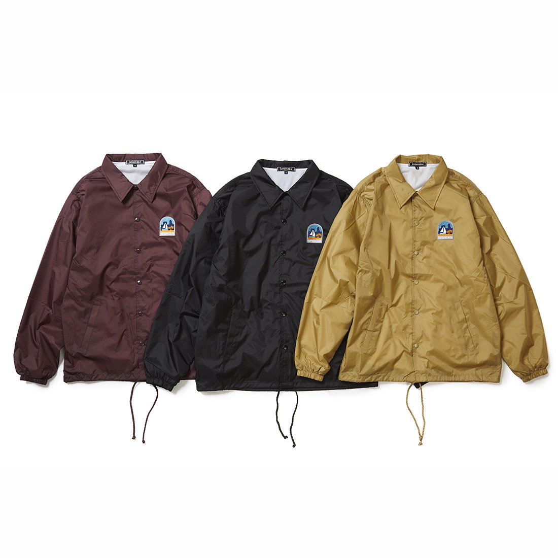 CAPTAINS HELM #SAN DIEGO COACH JACKET
