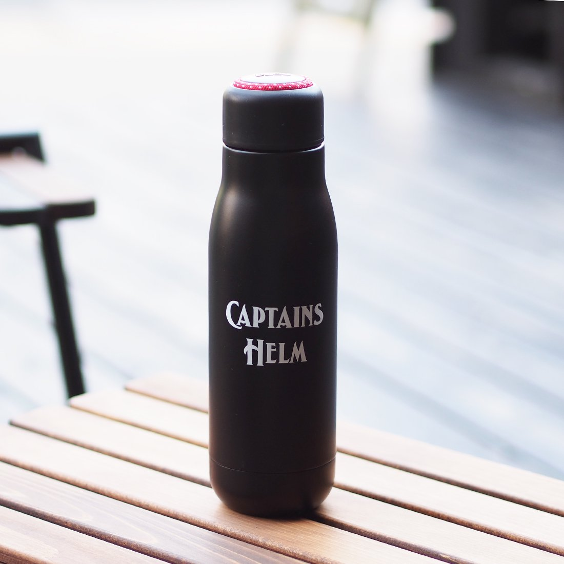 CAPTAINS HELM × ZOKU #CH LOGO BOTTLE (500ml)