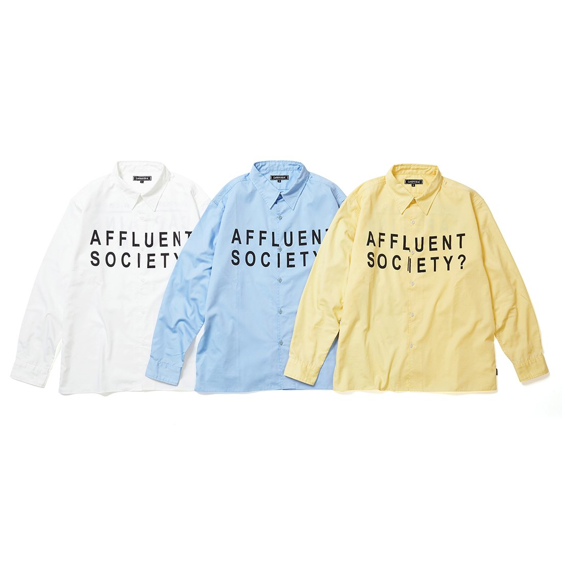 CAPTAINS HELM #AFFLUENT SOCIETY WORK SHIRTS
