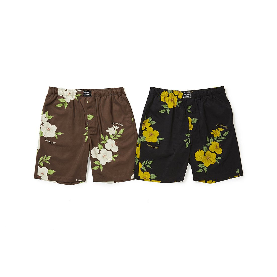 CAPTAINS HELM #CALIFORNIA ALOHA SHORTS