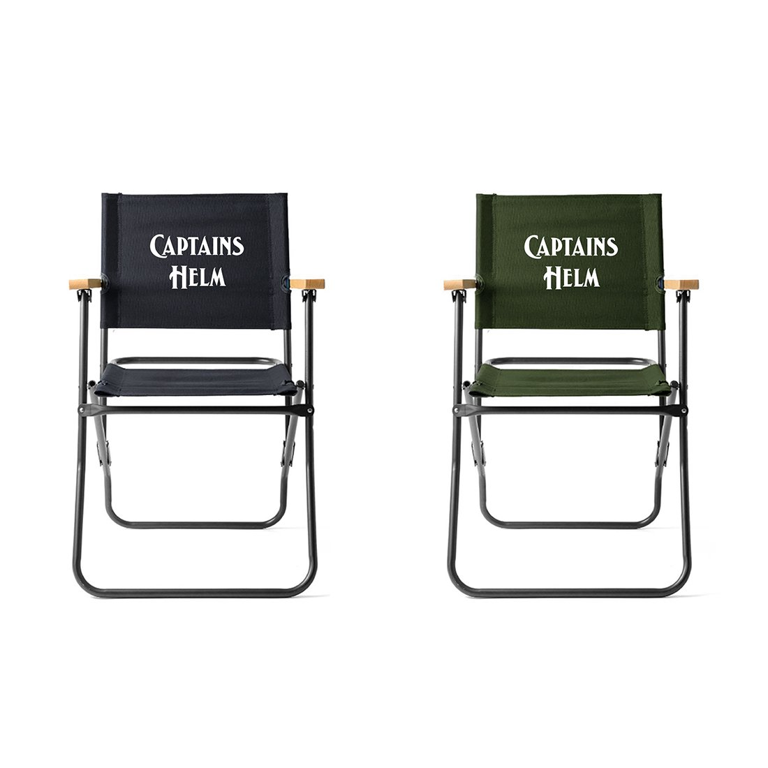 CAPTAINS HELM #CH MILITARY FOLDING CHAIR