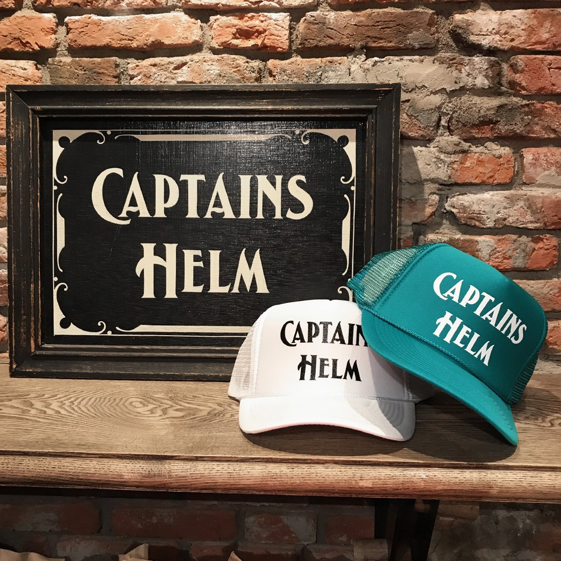 【ONLINE STORE LIMITED】CAPTAINS HELM #SUMMER MESH CAP