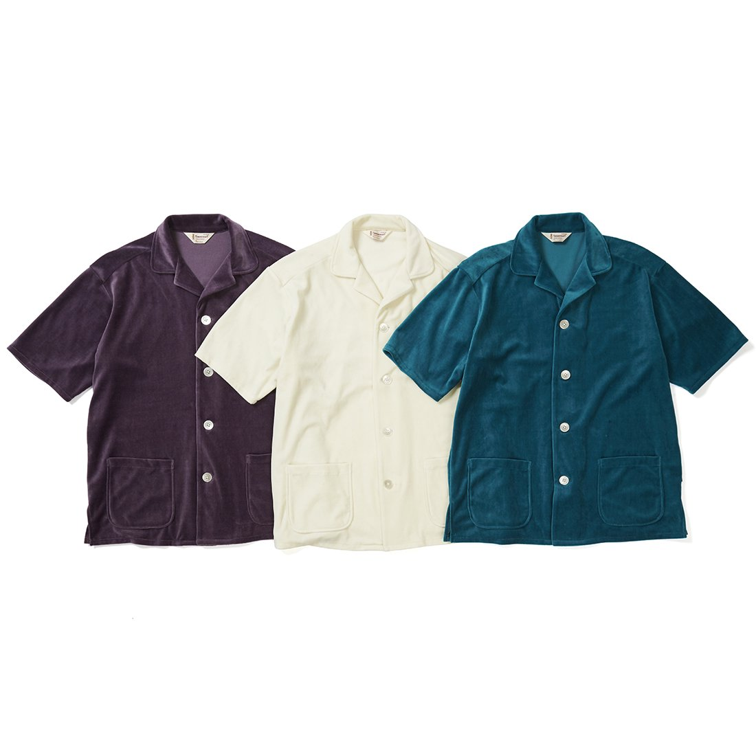 TOWN CRAFT × CAPTAINS HELM #VELOUR BEACH SHIRTS