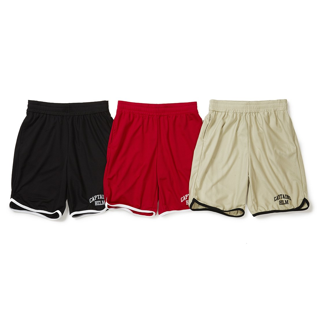 CAPTAINS HELM #MESH SHORTS